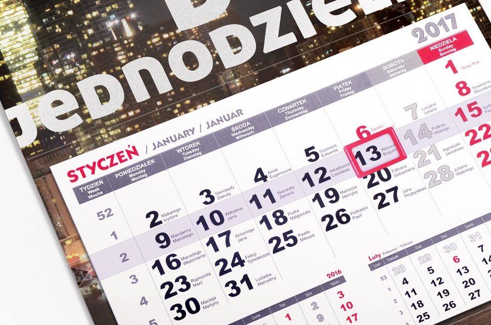 Jak spersonalizować kalendarz? Poznaj nasze kalendarzowe nowości