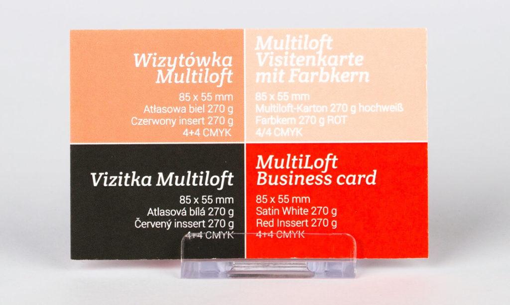 drukarnia wizytówek multiloft