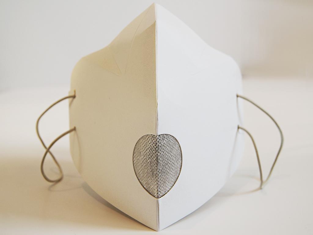 Maseczka kartonowa z filtrem